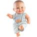 Кукла-пупс Грег в сером комбенизоне, 22 см