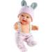 Кукла-пупс Лусиа в шапочке с ушками, 22 см