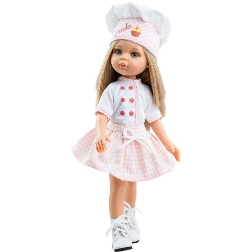 Костюм кондитера для кукол 32 см
