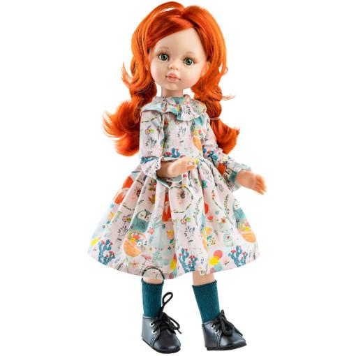Цветочное платье и носочки для шарнирных кукол 32 см
