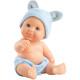 Голубые трусики и шапочка с ушками для пупсов 22 см