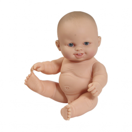 Пупс мальчик, без одежды, 22 см