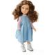 Кукла Марго в розово-голубом платье, 32 см