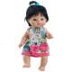 Кукла-пупс Флора в платье с бантиком, 21 см