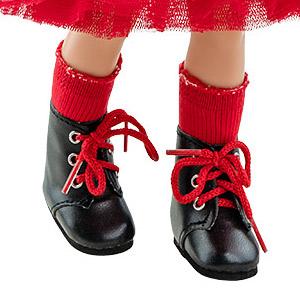 Носочки красные для кукол 32 см