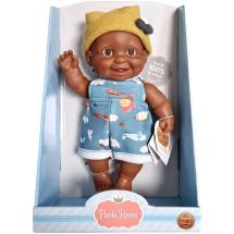 Кукла-пупс Тео, 22 см, мулат