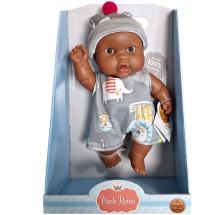 Кукла-пупс Лукас, 22 см, мулат