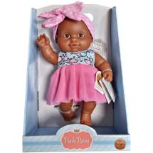 Кукла-пупс Ирина, 22 см, мулатка