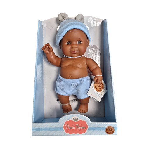Кукла-пупс Альдо, 22 см, мулат