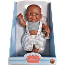 Кукла-пупс Грег, 22 см, мулат